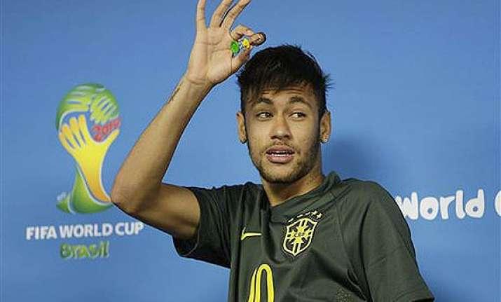 fifa world cup neymar anxious ahead of brazil s opening