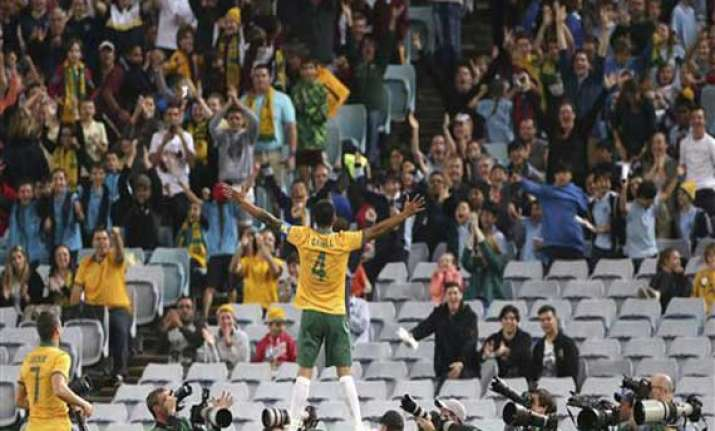 fifa world cup australia looks to cahill for goals in world
