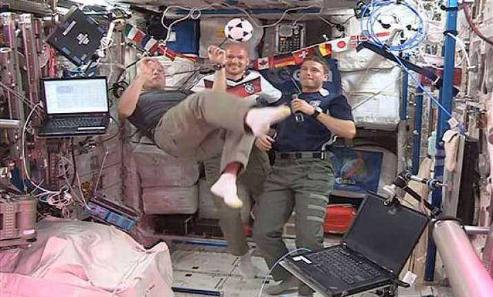 fifa world cup best wishes come from space station