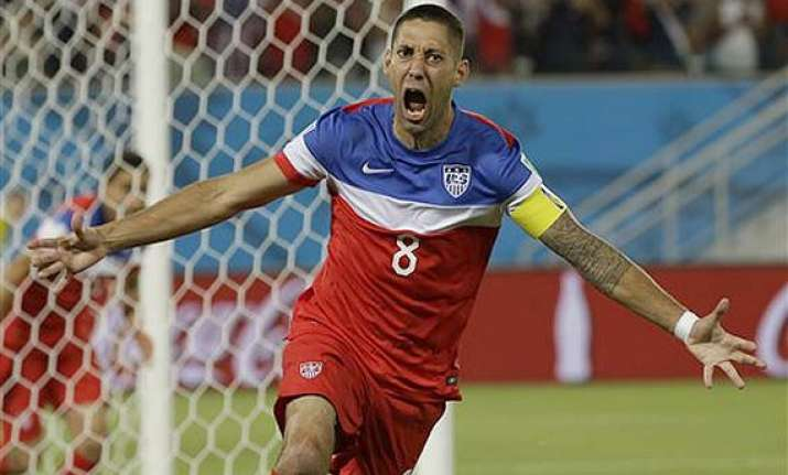 fifa world cup dempsey brooks give us 2 1 win over ghana