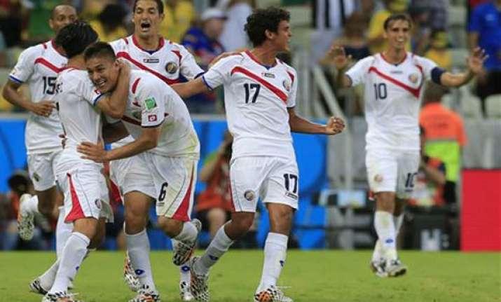 fifa world cup costa rica stuns uruguay by 3 1