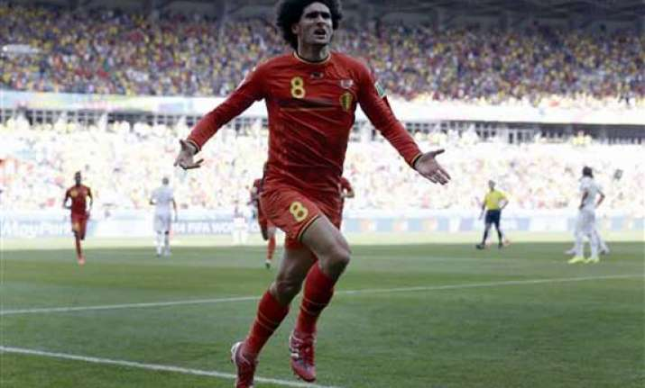 fifa world cup belgium opens with 2 1 comeback win over