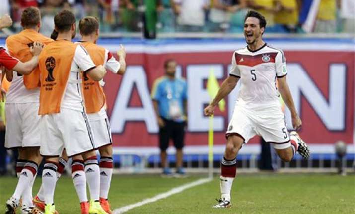 fifa world cup germany defender hummels in doubt for ghana