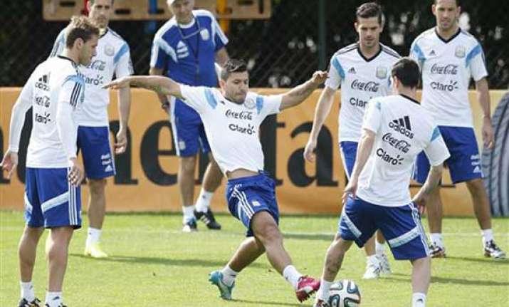 fifa world cup argentina prepare for iran match