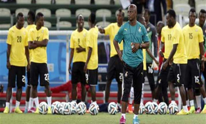 fifa world cup ghana resists talk of world cup exit