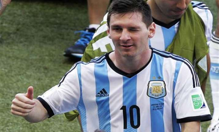 fifa world cup we must improve says messi