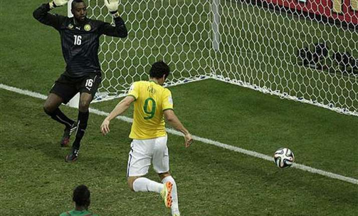 fifa world cup mustache goal gets fred going at world cup