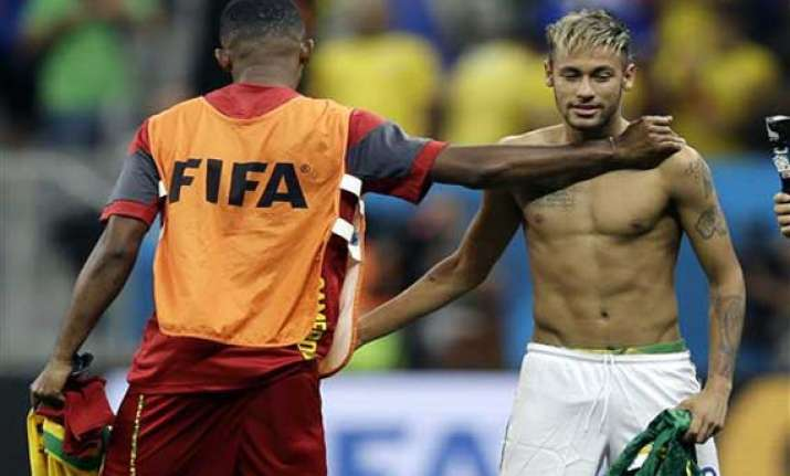 fifa world cup neymar leads world cup goal scorers list