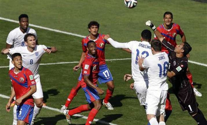 fifa world cup costa rica tops group after 0 0 draw with