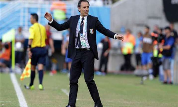 fifa world cup prandelli quits as coach after italy s exit
