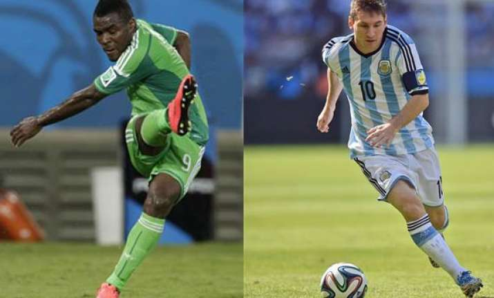 fifa world cup nigeria out to stop things getting messi