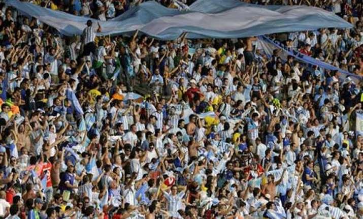 fifa world cup porto alegre braces for 80 000 argentine fans