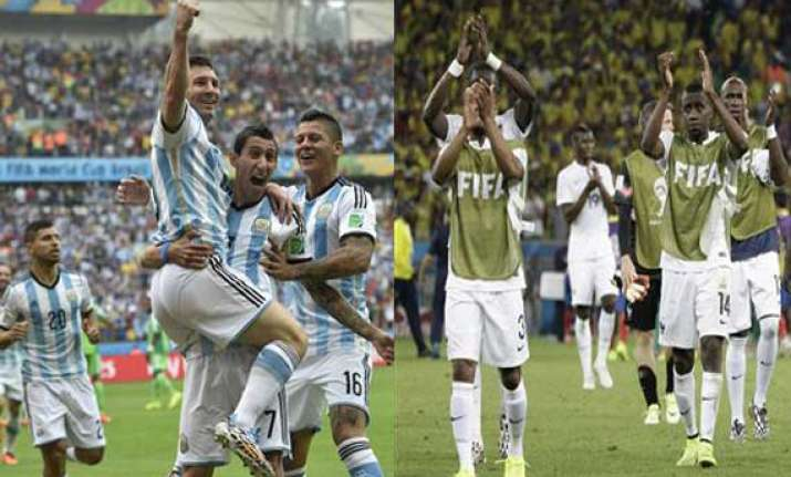 fifa world cup group toppers argentina france avoid round
