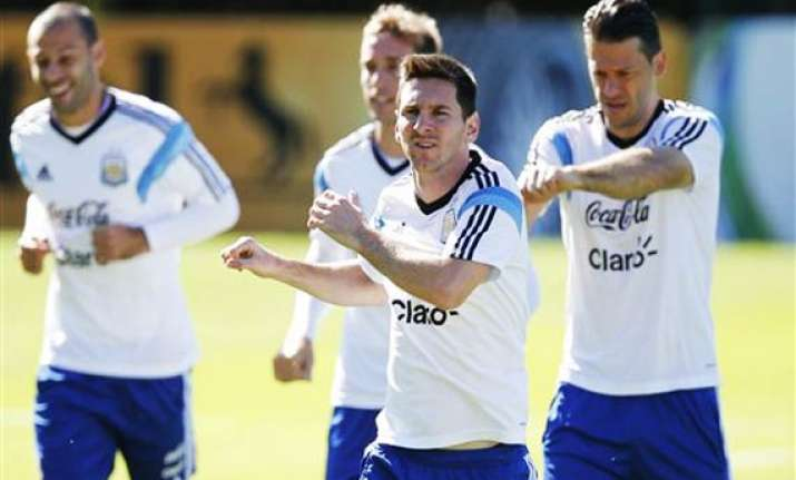 fifa world cup messi s argentina look to peak against swiss