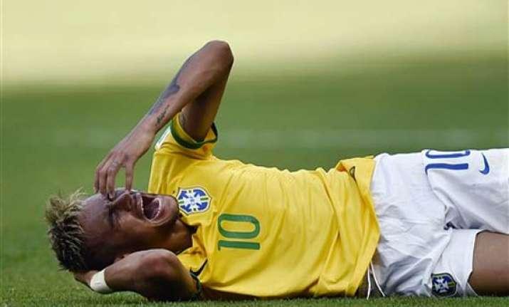 fifa world cup brazil downplays neymar injuries ahead of