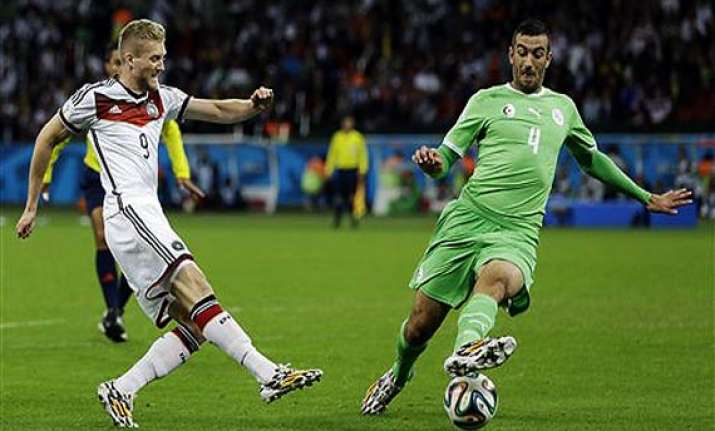 fifa world cup germany beats algeria 2 1 in extra time