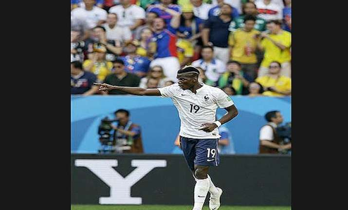 fifa world cup pogba gets big match world cup goal france
