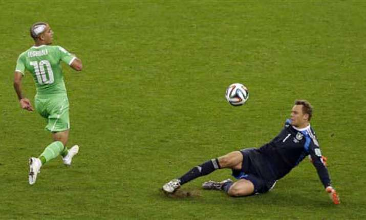 fifa world cup germany prevails over algeria but only just