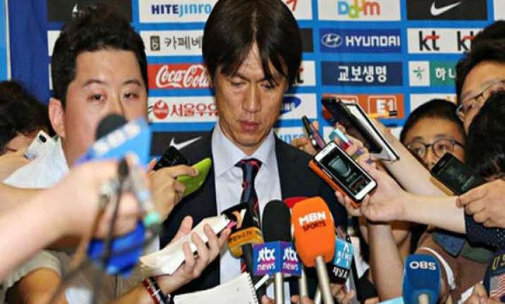 fifa world cup toffee insult for south korea on return