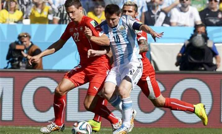 fifa world cup argentina switzerland tied 0 0 after 90