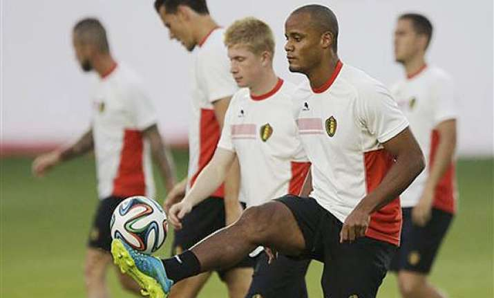fifa world cup vincent kompany fit to start for belgium