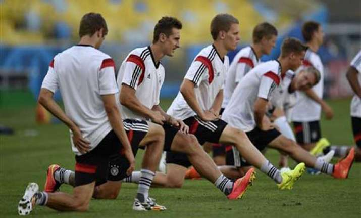 fifa world cup germany players hit by illness before france