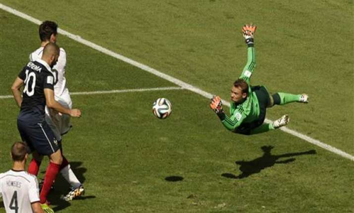 fifa world cup manuel neuer s composure stands out in win