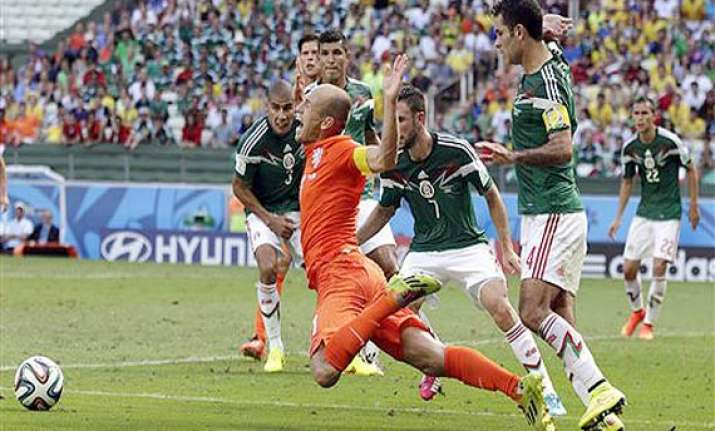 fifa world cup costa rica worried about arjen robben s dives