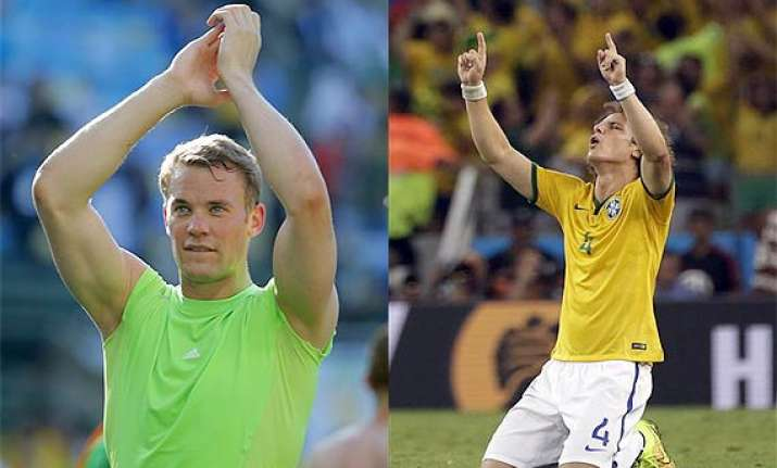 fifa world cup brazil germany set up semifinal encounter
