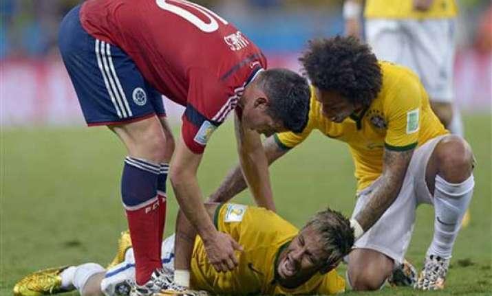 fifa world cup will neymar injury cast a pall over brazil