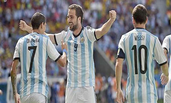 fifa world cup argentina beats belgium 1 0 to reach semis