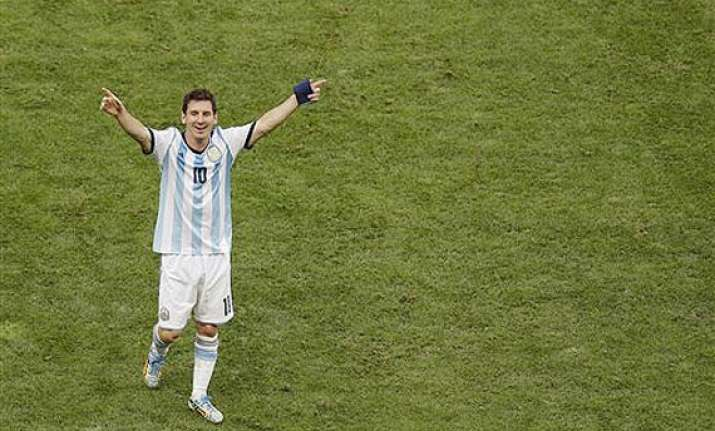 fifa world cup lionel messi on way to surpass maradona on