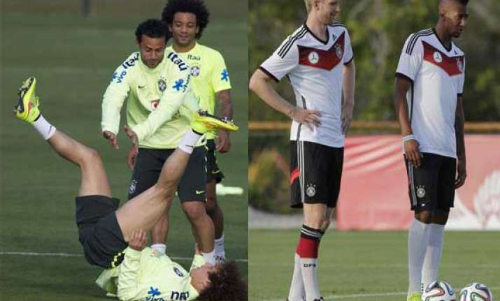 fifa world cup all change as physical brazil tackle german