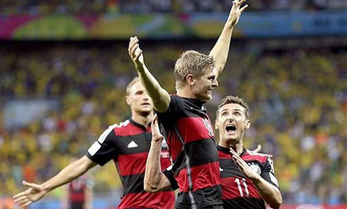 fifa world cup brazil fans crushed by 5 early germany goals