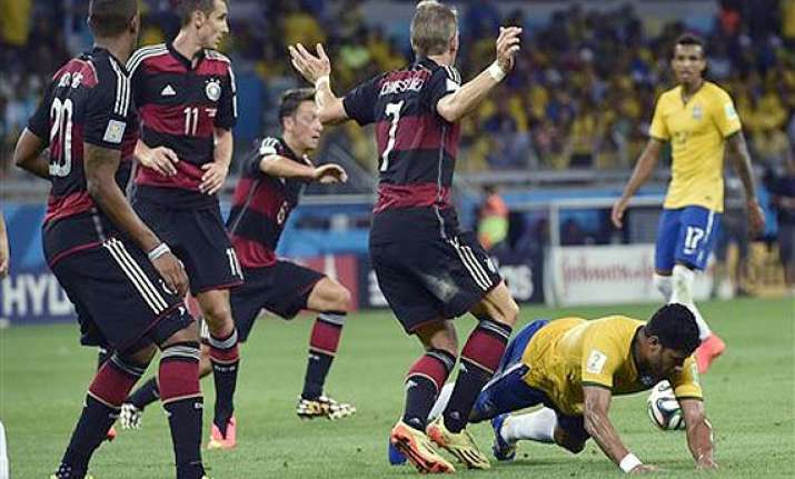 fifa world cup 7 goal scoring spree stuns even germany