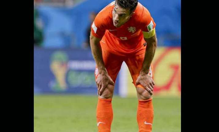 fifa world cup van persie has stomach complaint ahead of