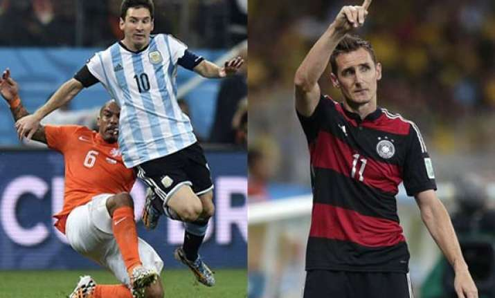 fifa world cup germany vs argentina comparison before the