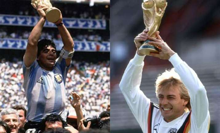 fifa world cup argentina vs germany a royal football rivalry