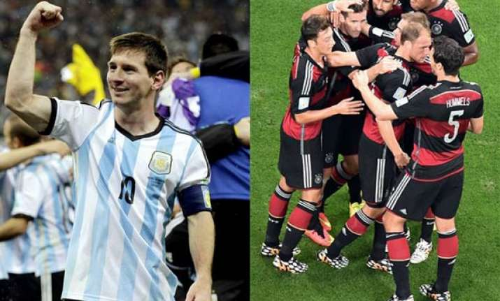 fifa world cup final magical messi or united germany