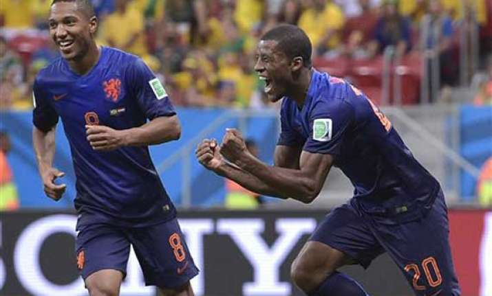 fifa world cup netherlands blank brazil 3 0 in play off
