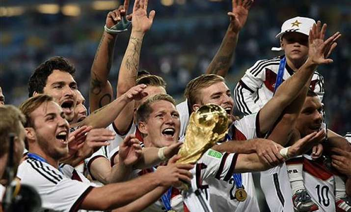 fifa world cup title ends 10 year project for germany