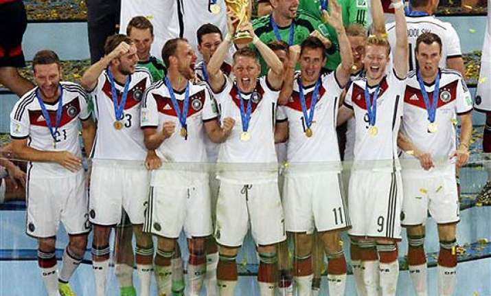 fifa world cup united germany stands at the top of the world