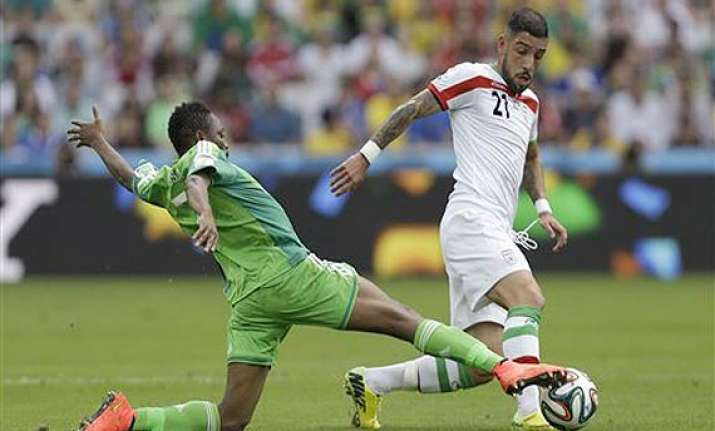 fifa world cup nigeria held 0 0 by iran in world cup s