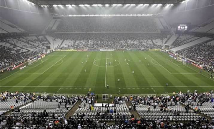 fifa delays final test at stadium for world cup opener