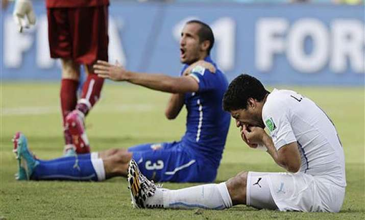 fifa rejects suarez appeal against ban for biting giorgio