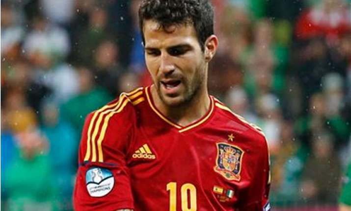 fabregas is spain s clairvoyant at euro 2012