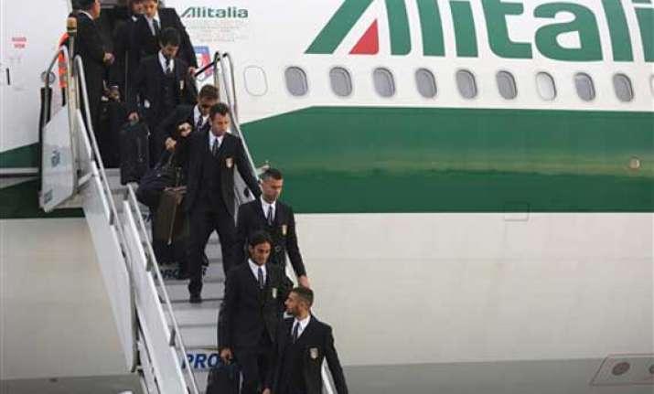 fifa world cup despite struggles italy optimistic on arrival