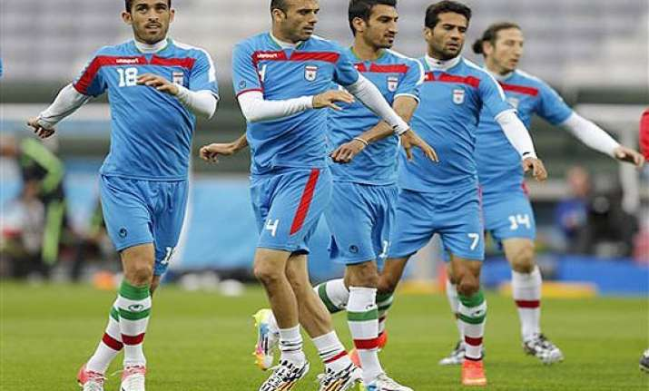 fifa world cup nigeria and iran 0 0 after first half in a