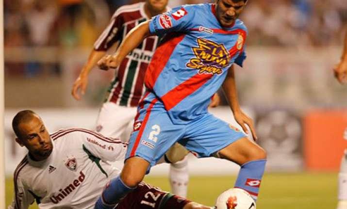 fluminense beats arsenal 1 0 in copa libertadores