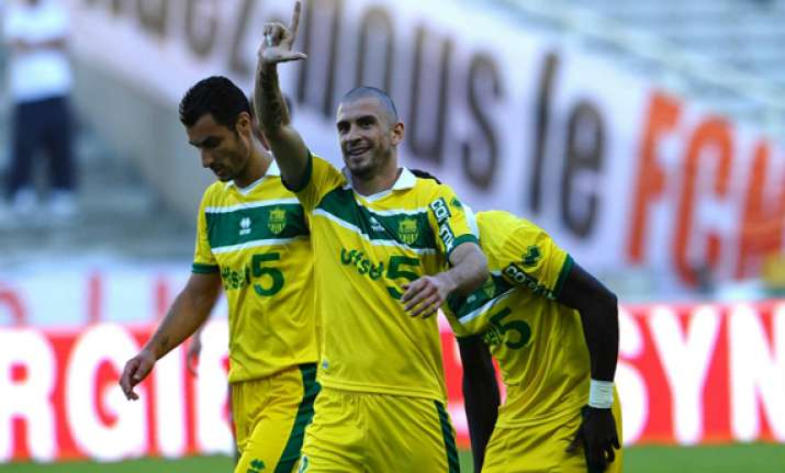 french league nantes goes to 4th place by beating bordeaux